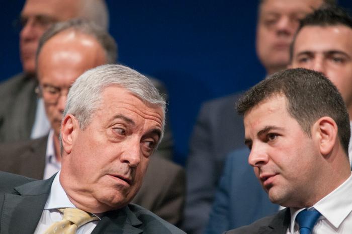 Călin Popescu Tăriceanu şi Daniel Constantin la crearea ALDE România
