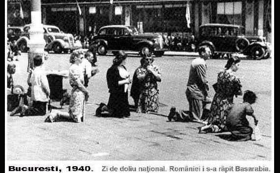 Zi de doliu naţional, 28 iunie 1940.