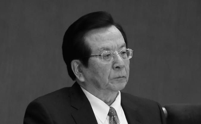 Fostul premier adjunct al Chinei, Zeng Qinghong 8 noiembrie 2012.