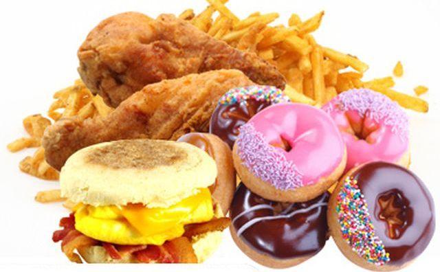 Combinaţii de mâncăruri nesănătoase
