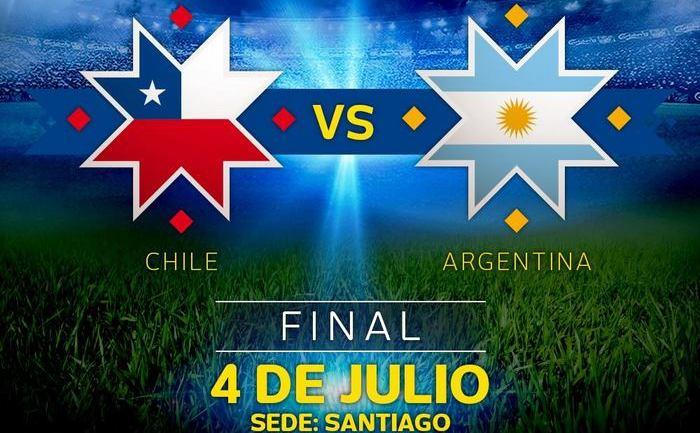 Chile - Argentina 4-1 după loviturile de departajare, în finala Copa America 2015