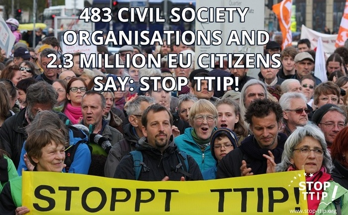 Campanie Stop TTIP.