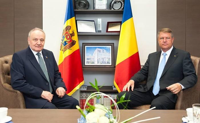 Nicolae Timofti şi Klaus Iohannis