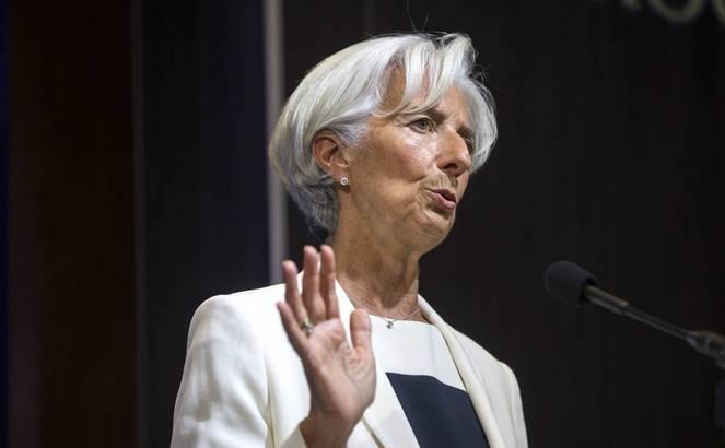 Directorul general al Fondului Monetar Internaţional, Christine Lagarde.