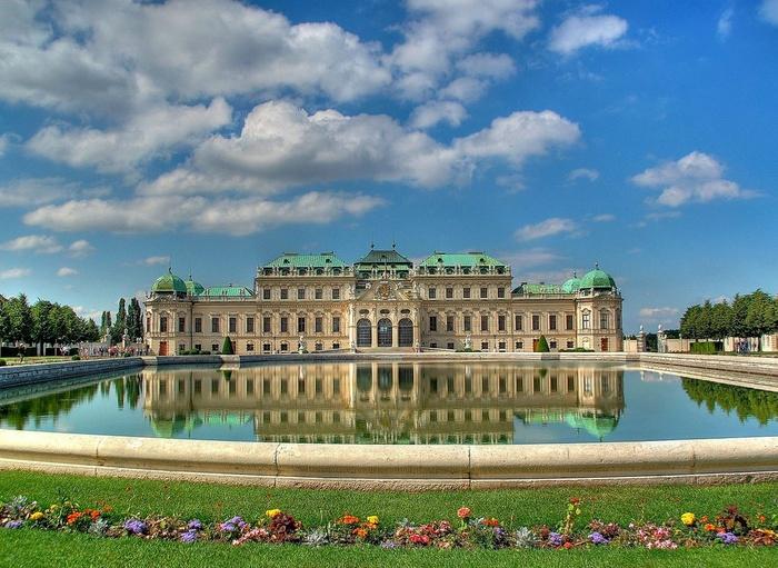 Palatul Belvedere-Viena