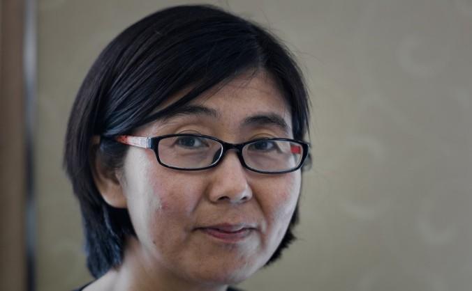 Avocata Wang Yu în Hong Kong în 20 martie 2014.