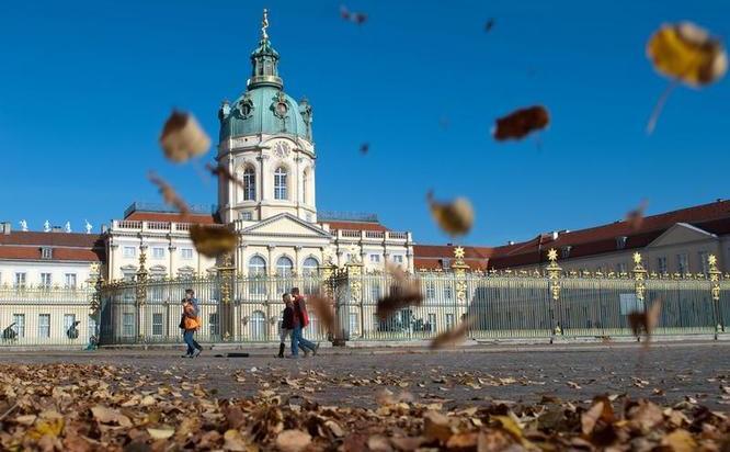 Palatul  Charlottenburg, Berlin.