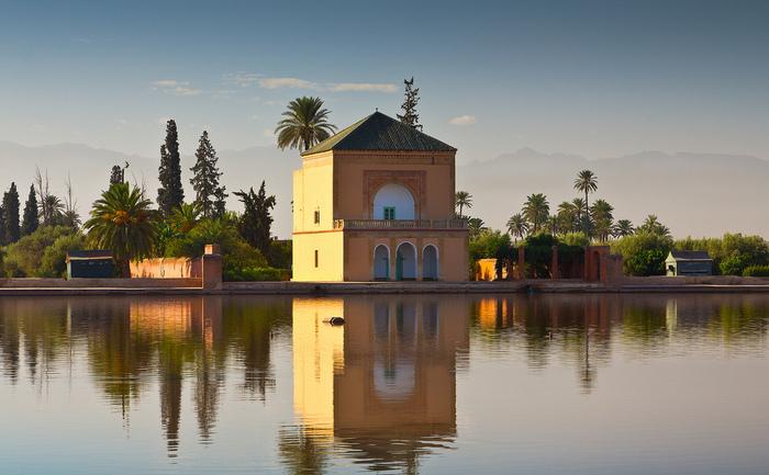 Grădinile Menara, Marrakech