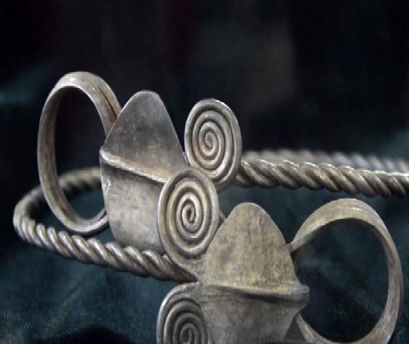 Piesă din tezaurul dacic recuperat de statul român