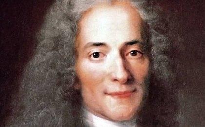 Scriitorul Voltaire