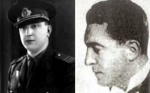Colonelul Gheorghe Arsenescu şi inginerul Nicolae T. Vasilescu