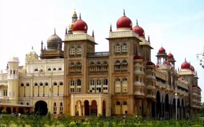 Palatul Mysore, India.
