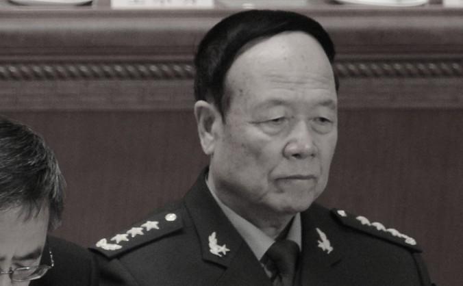 Fostul vice preşedinte al Comisiei militare Centrale, Guo Boxiong , 2013.