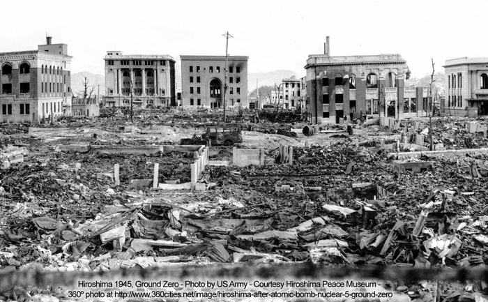 Dezastrul creat de bomba nucleară de la Hiroshima