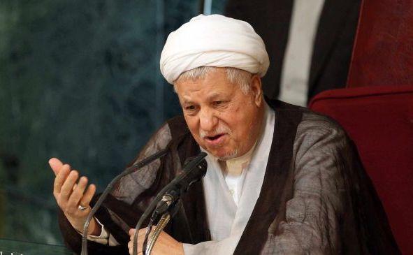 Akbar Hashemi Rafsanjani, preşedintele Consiliului de Discernământ din Iran.