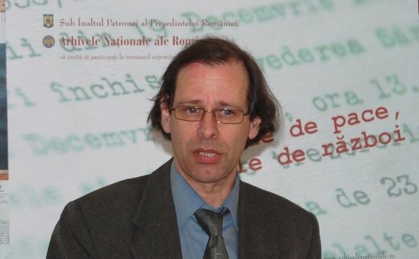"""Directorul institutului """"Ellie Wiesel"""", Alexandru Florian"""