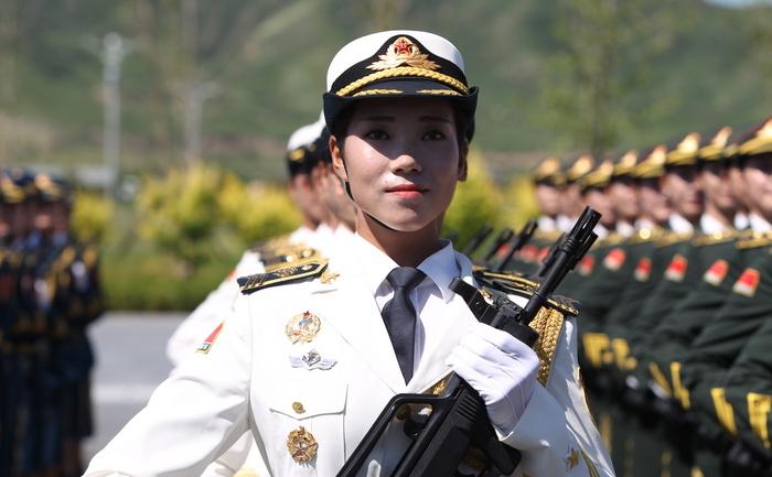 """Armata de """"Eliberare a Poporului"""" la un antrenament pentru parada care va sărbători pe 3 septembrie 70 de ani de la victoria împotriva Japoniei"""