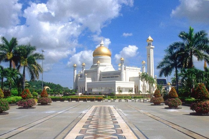 Palatul Istana Nurul Iman din Brunei