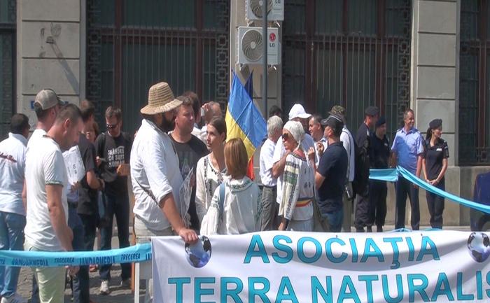 Protest împotriv legii antilegionare, 4 septembrie 2015