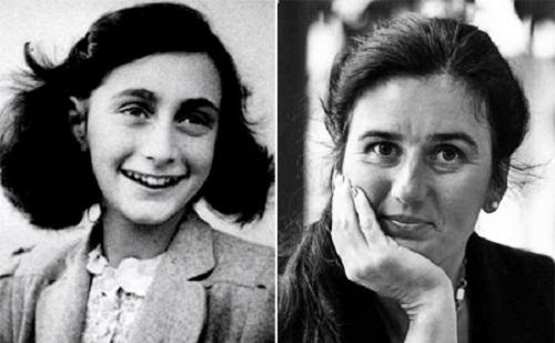 Anne Frank şi Barbro Karlen