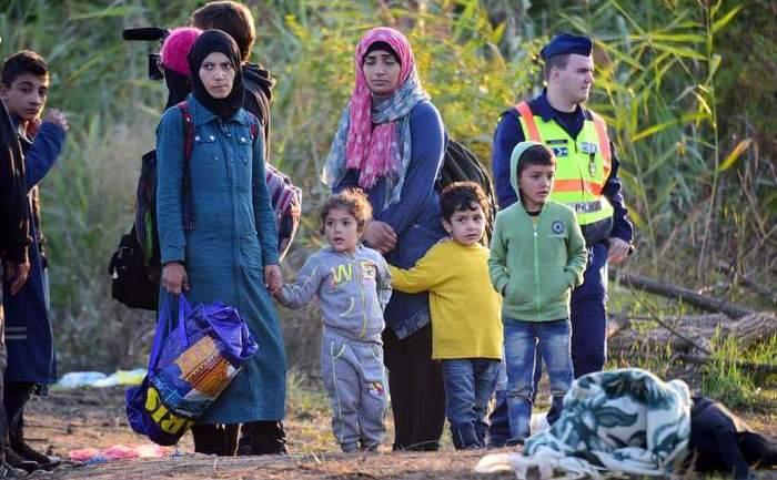Refugiaţi sirieni în Ungaria