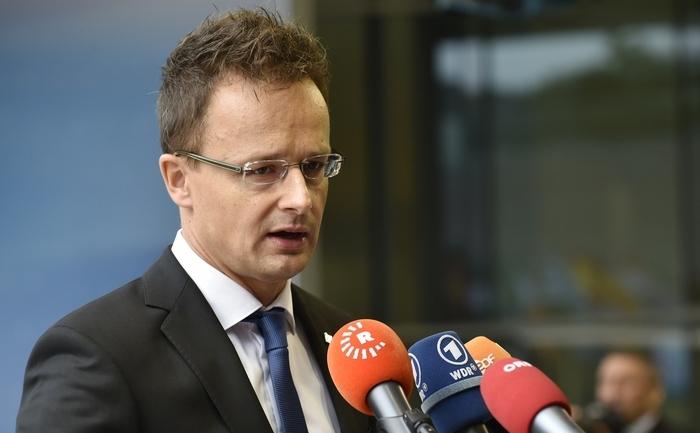 Peter Szijjarto, ministrul maghiar de Externe