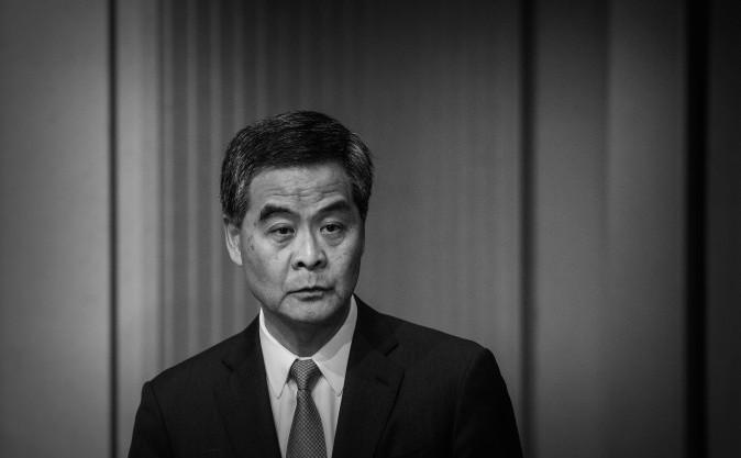 """""""Suprem""""-ul din Hong Kong, Leung Chun-ying, 18 iunie 2015."""