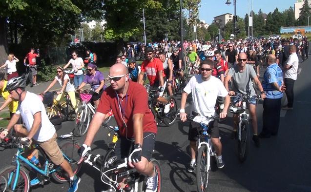 Marşul bicicliştilor, 19 septembrie 2015