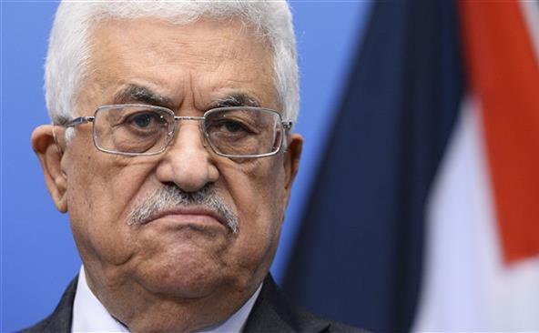 Preşedintele Autorităţii Palestiniene, Mahmoud Abbas.