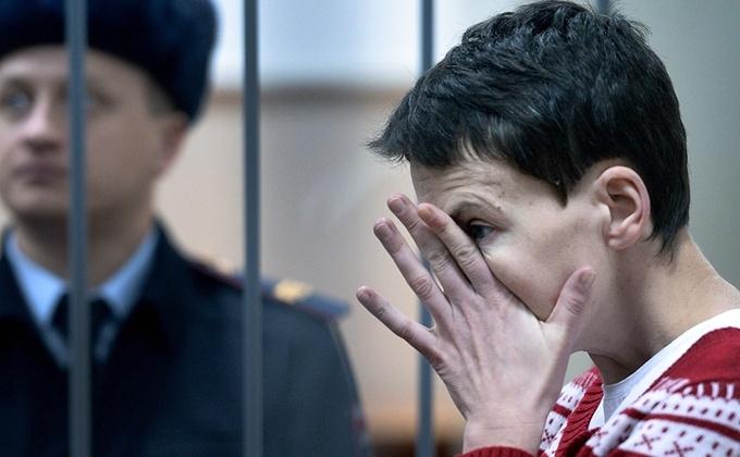 Pilotul ucrainean Nadia Savcenko.