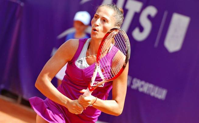 Jucătoarea română de tenis Alexandra Cadanţu