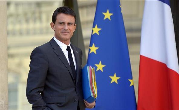 Premierul francez Manuel Valls.