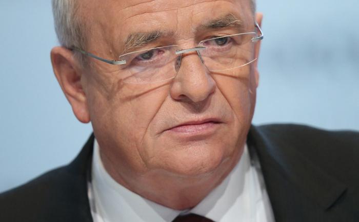 Fostul CEO al Volkswagen, Martin Winterkorn