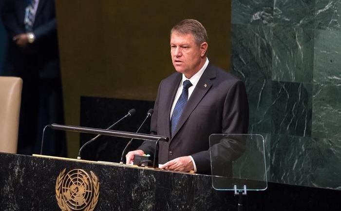 Preşedintele Klaus Iohannis la ONU