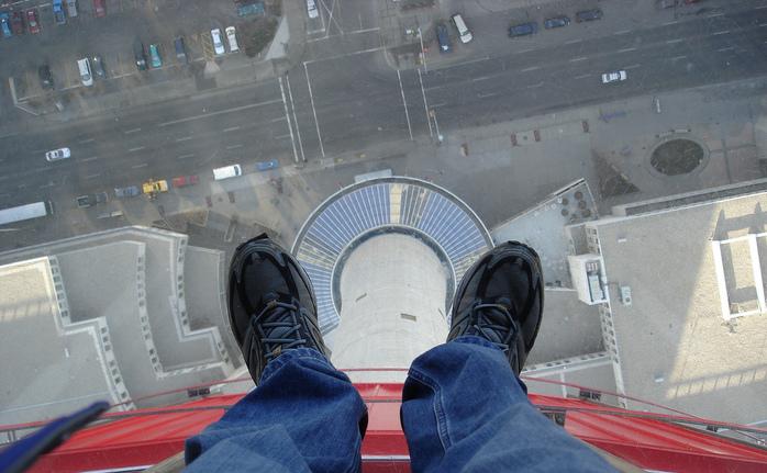 Cum scapaţi de frica de înălţime