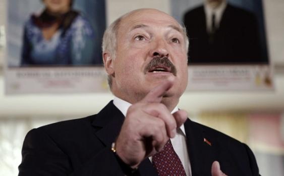 Preşedintele belarus Alexander Lukaşenko.