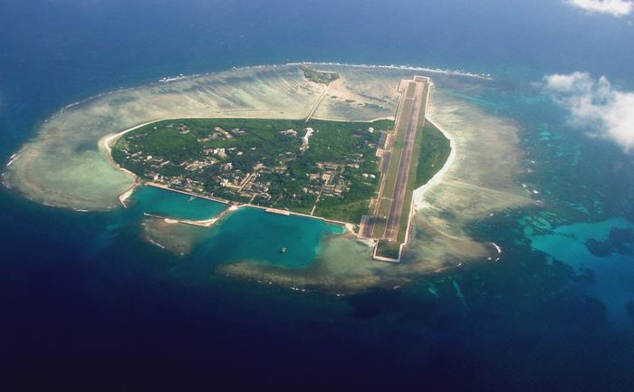 Insulele disputate Paracels din Marea Chinei de Sud.
