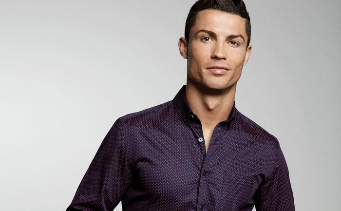 Starul lui Real Madrid, Cristiano Ronaldo.