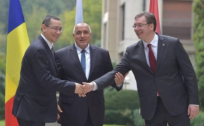 Şefii de Guverne din România, Bulgaria şi Serbia