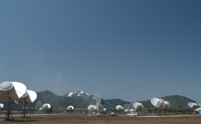 Matricea Allen Telescope Array din California, dedicată observării şi cercetării inteligenţei extraterestre