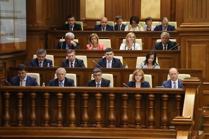 Fostul cabinet de miniştri condus de Valeriu Streleţ