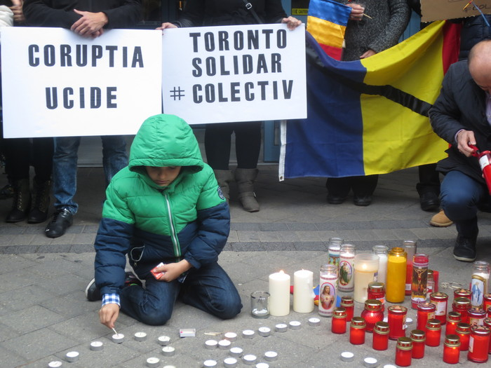 Toronto Colectiv comemorare - Nov 7
