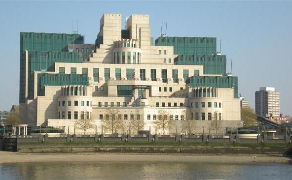 Sediul din Londra al Serviciul Secret Britanic.