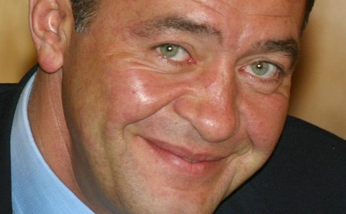 Mihail Lesin, pe atunci ministru al Presei, Televiziunii şi Radioului în 2002