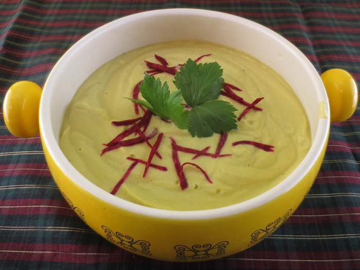 Supa cremă de ţelină