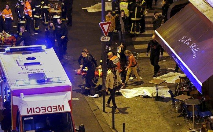 Unul dintre atacurile din 13 noiembrie 2015 a avut loc asupra restaurantului Le Carillon din Paris.