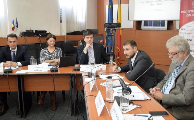 Conferinţă pe tema descentralizării regionale, intitulată: Importanţa dezvoltării regionale pentru viitorul României. 19 noiembrie 2015