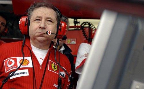 Preşedintele  FIA, Jean Todt