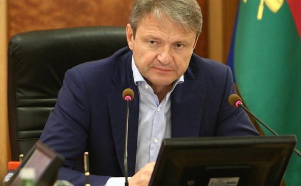 Ministrul rus al agriculturii Alexander Tkachev.