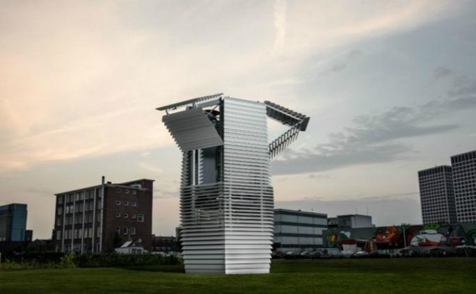 Smog-Free Tower din Rotterdam: turnul care purifică aerul